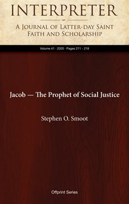 Jacob — The Prophet of Social Justice