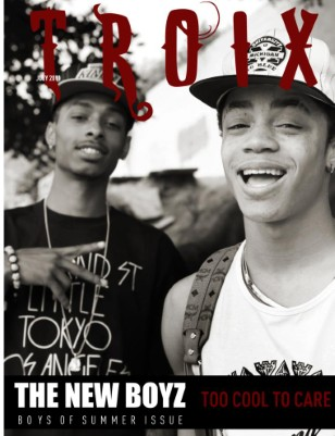 "NEW BOYZ ""Too Cool To Care"""