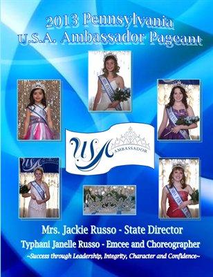 Pennsylvania U.S.A. Ambassador Pageant 2013