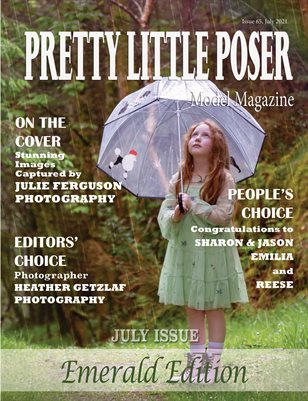 Pretty Little Poser Model Magazine - Issue 65 - Emerald Edition - July 2021