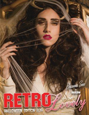 Retro Lovely Halloween 2019 Volume No.5 – Brianna Seco Cover