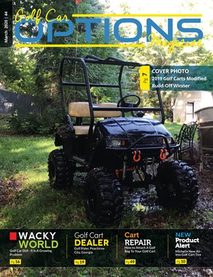 Golf Car Options Magazine - March 2020