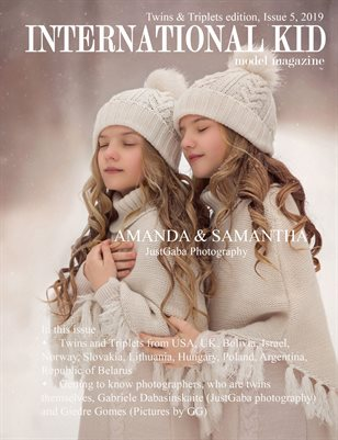 International Kid Model Magazine Issue #5, Twins and Triplets Edition