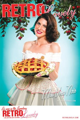 Miss Vera Noir Cover Poster