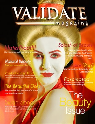 Validate Magazine - The Beauty Issue
