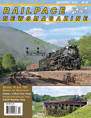 OCTOBER 2015  Railpace Newsmagazine