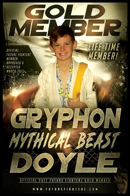 Gryphon Doyle Gold Member/Diploma Poster