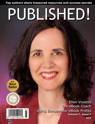PUBLISHED! featuring Ellen Violette  Issue 7