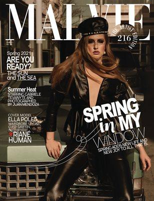 ALVIE Magazine The Artist Edition Vol 216 May 2021