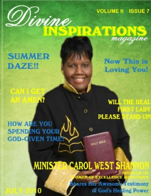 Divine Inspirations Magazine July 2010 Issue