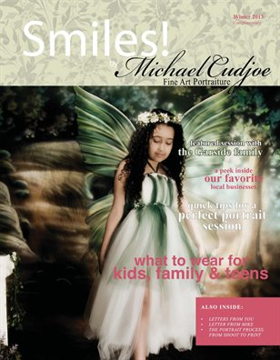 Michael Cudjoe Fine Art Portraiture Studio Magazine Winter Issue