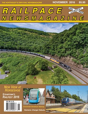 NOVEMBER 2016 Railpace Newsmagazine