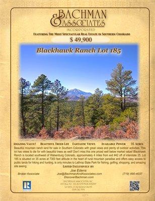 Blackhawk Ranch Lot 185
