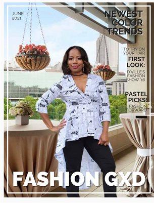 """Fashion Gxd Magazine """"Charron Monaye"""""""