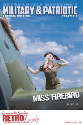 Patriotic & Military 2021 Vol.4 – Miss Firebird Cover Poster