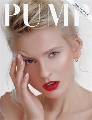 PUMP Magazine The Beauty Edition Featuring Photographer Christine Polz