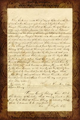1818,1876 ORANGE COUNTY NC- BEDFORD COUNTY, TENN. LAND DEED ( SAMUEL TURRENTINE)