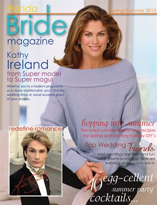 Florida Bride Magazine Spring/Summer 2013