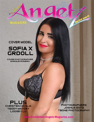 ENCHANTED ANGELZ MAGAZINE - Cover Model Sofia X Grdoll - May 2019