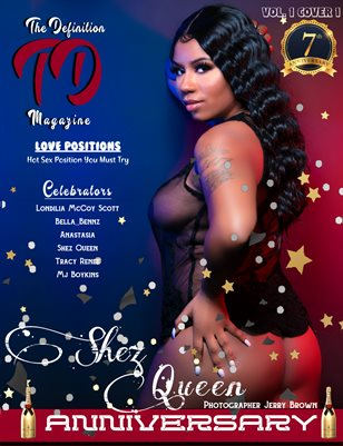 The Definition: Shez Queen 7yr Anniversary Vol.1Cover1
