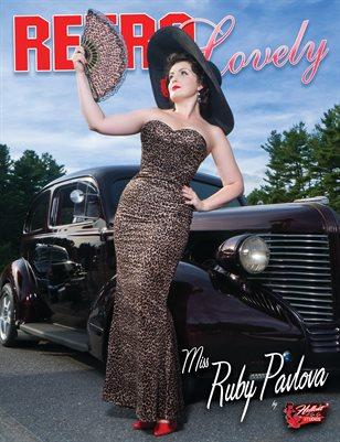 Retro Lovely No.99 – Miss Ruby Pavlova Cover