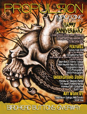 May 2014 Issue 6 HAPPY ANNIVERSARY