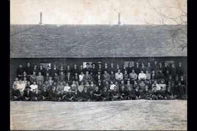 Feb. 1906, Murray High School, Calloway County, Kentucky