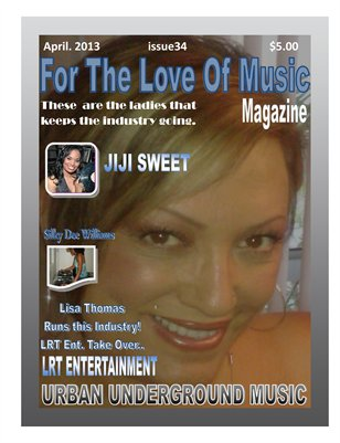 For The Love Of Music Magazine Issue 34