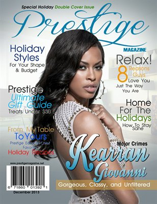 December Issue ft.Kearran Giovanni
