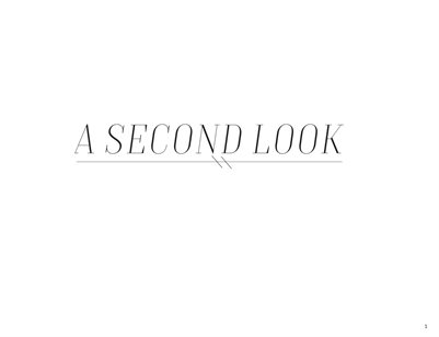 A Second Look Photo Essay
