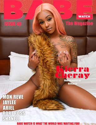 BABE WATCH MAGAZINE ISSUE 48 FT KIERRA