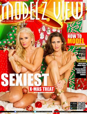 MODELZ VIEW DECEMBER 2013 - COVER GIRLS ANAIS ZANOTTI N ANA BRAGA