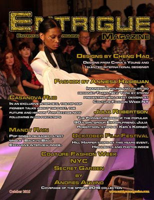 Entrigue Magazine October 2015