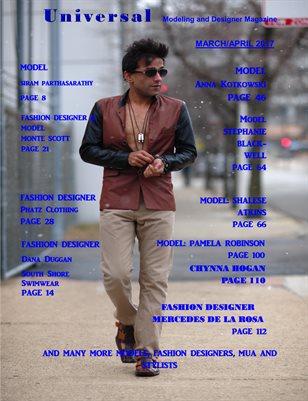 Models and Fashion Designers Magazine April 2017
