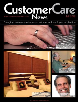 Customer Care News - Fall 2012