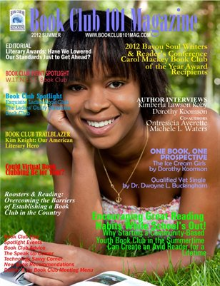 Book Club 101 Magazine - 2012 Summer Edition