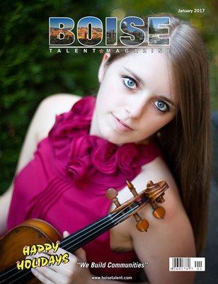 Boise Talent Magazine January 2017 Edition