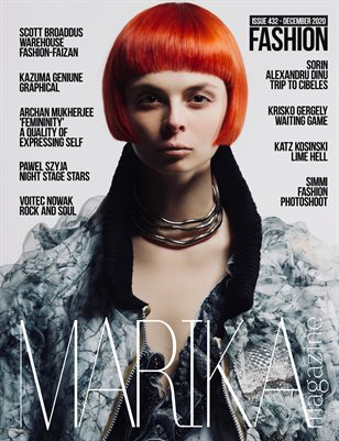 MARIKA MAGAZINE FASHION (DECEMBER-ISSUE 432)
