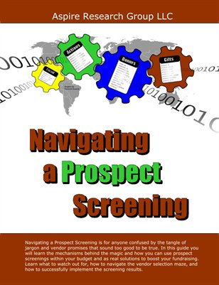 Navigating a Prospect Screening