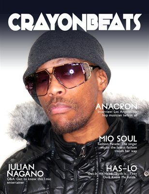 CrayonBeats Magazine: Issue 01 (Anacron cover)