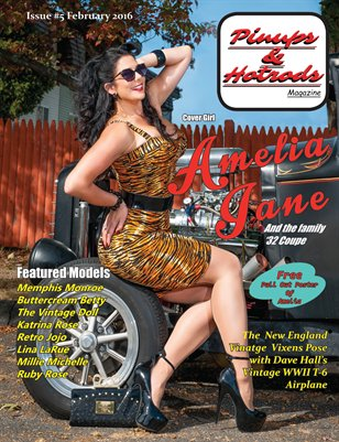Pinups & Hotrods Issues#5