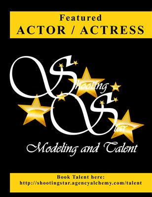 Featured Actor / Actress Shooting Star Modeling and Talent