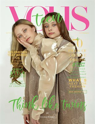 VOUS Magazine | The April Teen & Kids Edition | Vol.1 | 2021