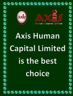 Axis Human Capital Limited is the best choice