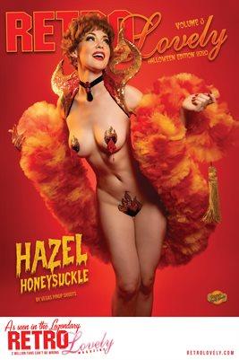 Hazel Honeysuckle Halloween Cover Poster