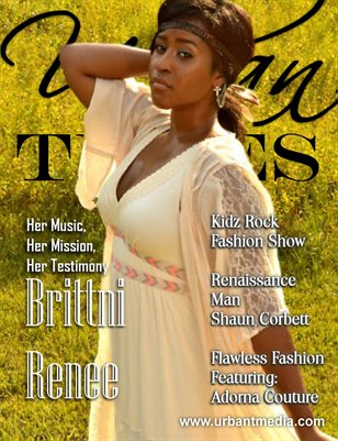 Urban Tymes Sept 2014 Issue: Featuring Brittni Renee!