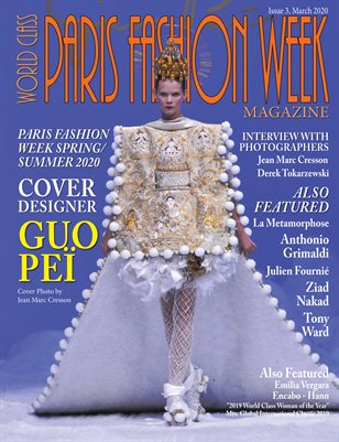 World Class Paris Fashion Week Magazine, Issue 3 with Guo Pei