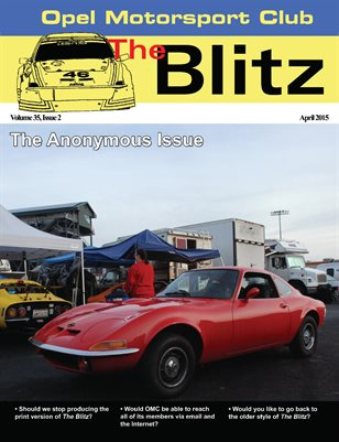 The Blitz, April 2015