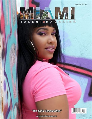 Miami Talent Magazine October 2016 Edition
