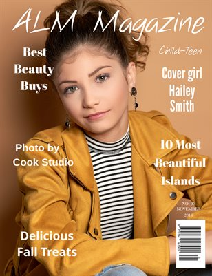 "ALM Child-Teen Magazine, Issue 95,  ""November's Most Beautiful"", November 2018"